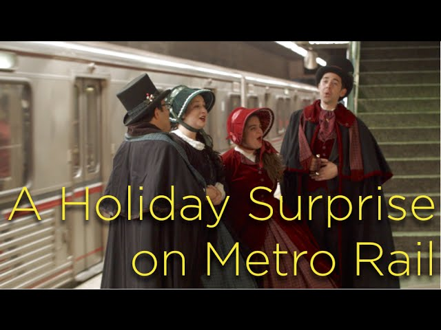 Director & Editor: A Holiday Surprise on Los Angeles Metro Rail!