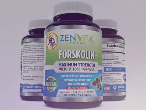 Pure Forskolin – w/ 40% Standardized Extract, 90 Capsules, 300 mg
