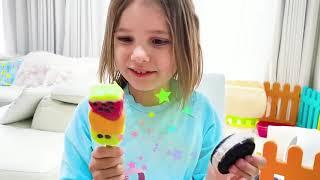 Катя и её вкусное мороженое
