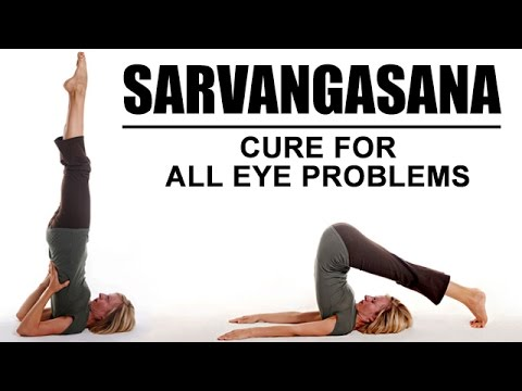 sarvangasana  shoulder stand  cure for all eye problems