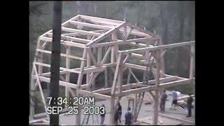 Goshen Timber Frames Raising