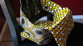 Anywhere Chair: Fabric Highchair Tutorial