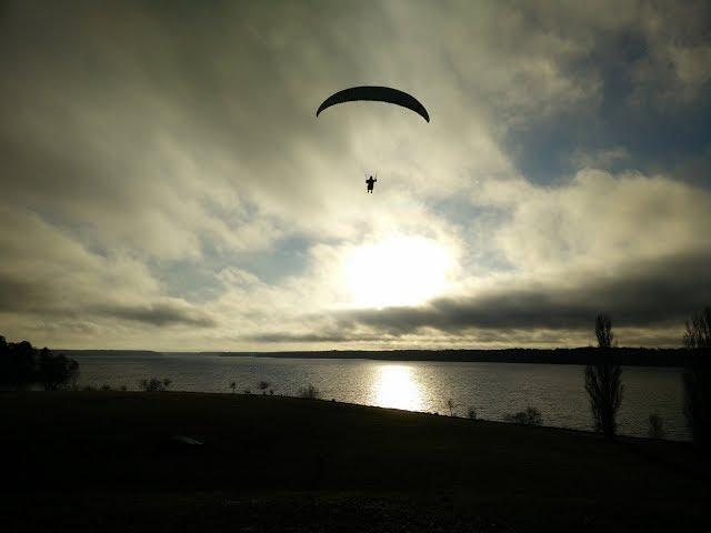 Paragliding Lövsta Sweden 20171125