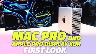 WWDC 2019: First Look at the New Mac Pro and Apple Pro Display XDR