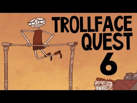 Trollface Quest 6 - ТРОЛЛИНГ В КАЧАЛКЕ