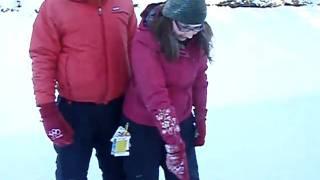 Maria and Julio skating