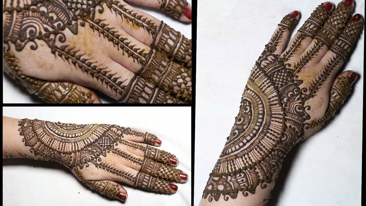 Indian mehndi designs for hands indian hand mehndi designs mehndi - How To Do Mehndi Back Hand Mehndi Design Indian Mehndi Design