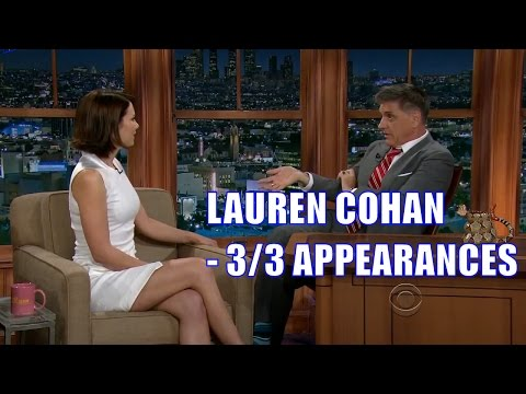 Lauren Cohan  Tells A Irish Joke  33 Appearance In Chron. Order HD