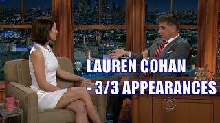 Lauren Cohan - Tells A Irish Joke - 3/3 Appearance In Chron. Order [HD]