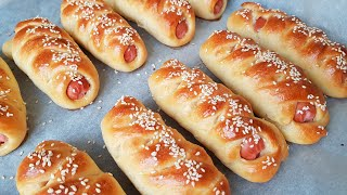 СОСИСКИ в тесте. ПРОСТОЙ и БЫСТРЫЙ рецепт для ПИКНИКА и ПЕРЕКУСА. Sausage ROLL | kitchenice