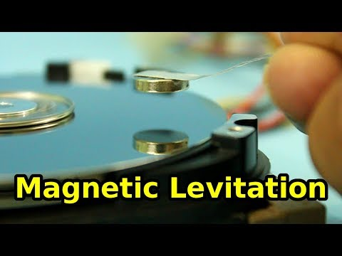 Experiment on Magnetic Levitation