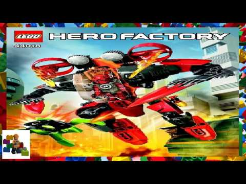 LEGO Instructions - HERO Factory - 44018 - FURNO Jet Machine