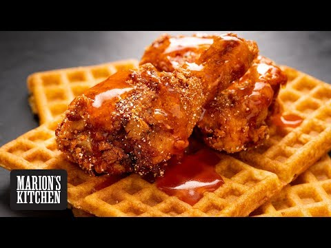 Spicy Honey Butter Fried Chicken - Marion's Kitchen