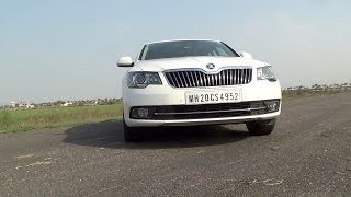 skoda superb 2 0 tdi elegance video review by cartoq com