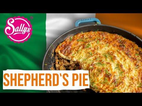 Shepherd's Pie – Cottage Pie / Fleischpastete unter Kartoffelkruste / Sallys Welt