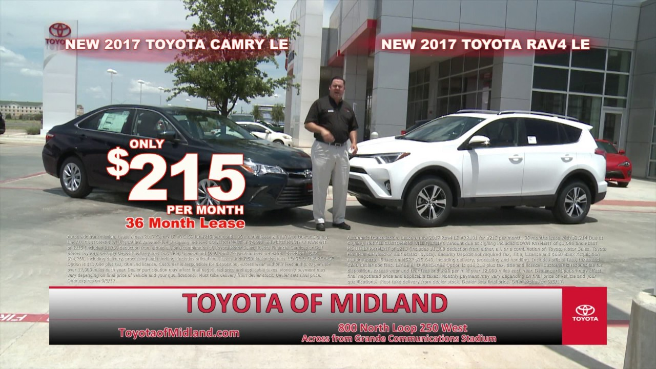 Toyota Of Midland >> Toyota Of Midland Toyota Annual Clearance Event Youtube