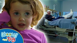 Woolly and Tig - Visit To The Hospital | TV Show for Kids | Toy Spider