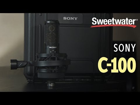 Sony C-100 Two Way Condenser Microphone | Sweetwater