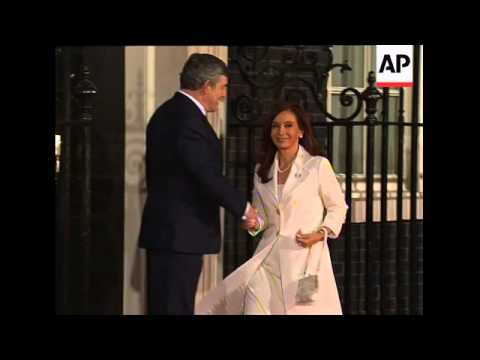 Leaders at Downing Street for pre-summit dinner