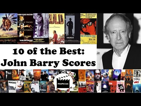 10 of the Best: John Barry Film Scores