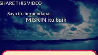 Cak Nun (Emha Ainun Najib) : Kaya dan Miskin
