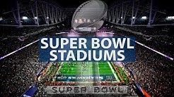 NFL Super Bowl Stadiums (1967-2024)