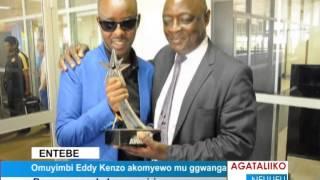 Omuyimbi Eddy Kenzo akomyewo mu ggwanga thumbnail