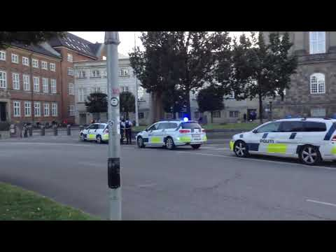 POLICE IN COPENHAGEN IS PREPARING FOR DISOBEDIENCE CROWDS... - SCARY