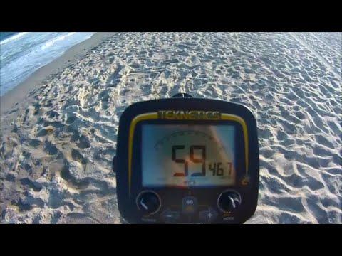 Treasure Hunting Teknetics G2 Metal Detector Emerald Isle, NC  - More Great Finds! - July 26, 2014