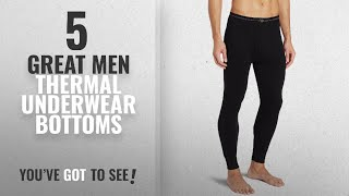 Top 10 Mens Thermal Underwear Bottoms [ Winter 2018 ]: Duofold Men's Mid Weight Wicking Thermal
