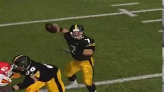 Madden 08 PC  week #2 Chiefs at Steelers (rain)