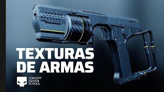 Aplicando texturas en armas para Videojuegos | Blender Tutorial