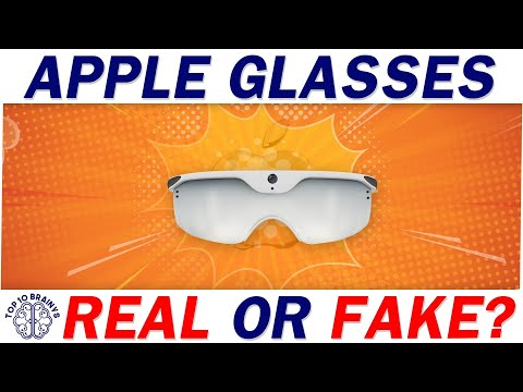 Apple Glasses real or fake Apple's New Product AR Glasses | Smart apple Glass -Top 10 Brainys P