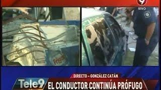 Indignante: atropelló y mató a mujer y nene en González Catán