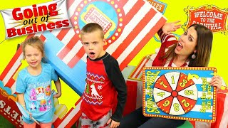 Bad Baby | Kids Carnival GOES OUT OF BUSINESS and Games Get Broken