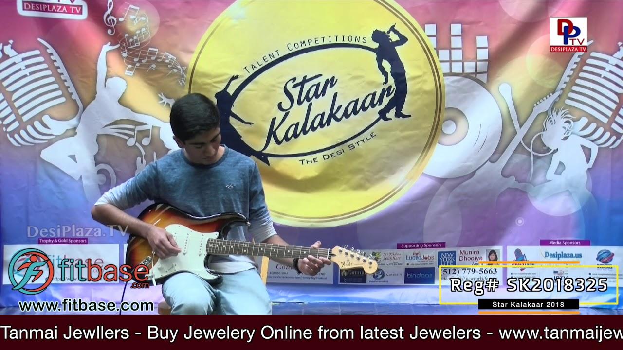 Participant Reg# SK2018-325 Performance - 1st Round - US Star Kalakaar 2018 || DesiplazaTV
