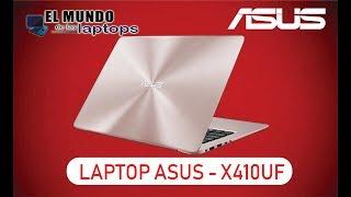 Laptop Asus Zenbook UX410UF Unboxing