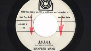 American pressing of an early Manfred Mann song.