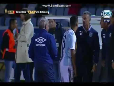 El Nacional vs Atlético Tucumán 0-1 (2-3) Copa Libertadores 2017 - Fase 2 VUELTA