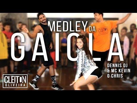 Medley da Gaiola - Dennis DJ & MC Kevin o Chris (COREOGRAFIA) Cleiton Oliveira / IG: @CLEITONRIOSWAG