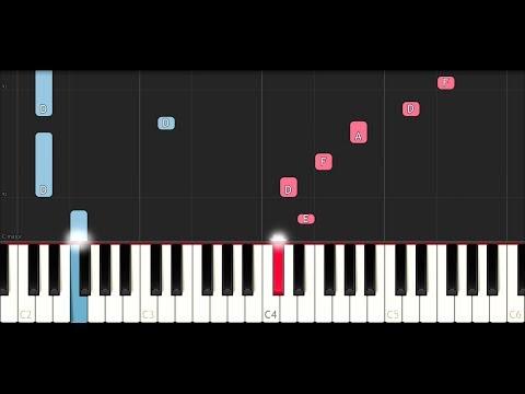 XxxTentacion - Bricks (SLOW EASY PIANO TUTORIAL)