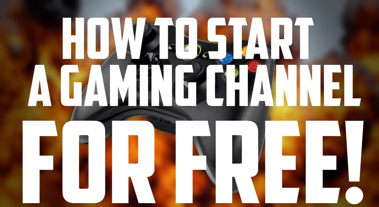 HOW TO MAKE A GAMING CHANNEL FOR FREE! (MAC & PC) • 10K ...