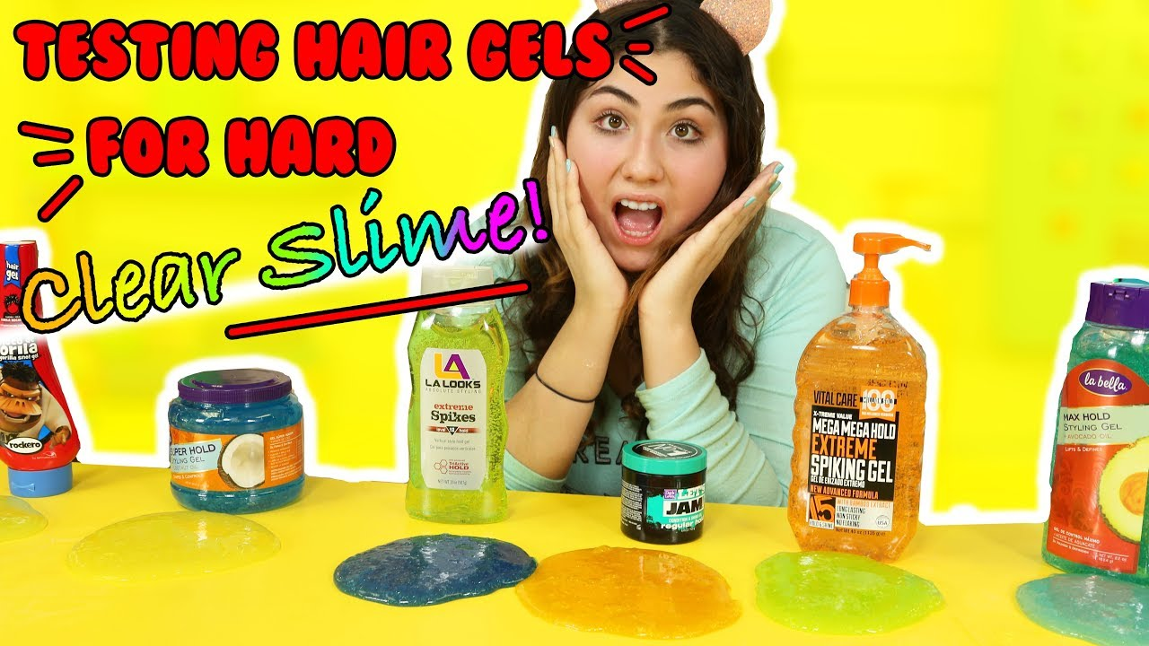 how to get slime out of hair youtube