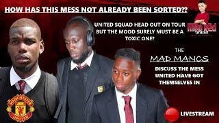MANCHESTER UNITED HEAD OUT ON TOUR BUT IN WHAT STATE? (SUMME...