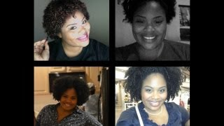 1 YEAR Natural Hair Journey!!!!