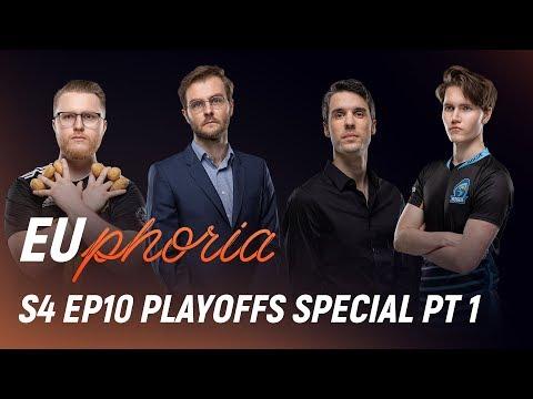 SPY, S04, RGE & VIT | EUphoria Season 4 Episode 10 (Playoffs Special Part 1)