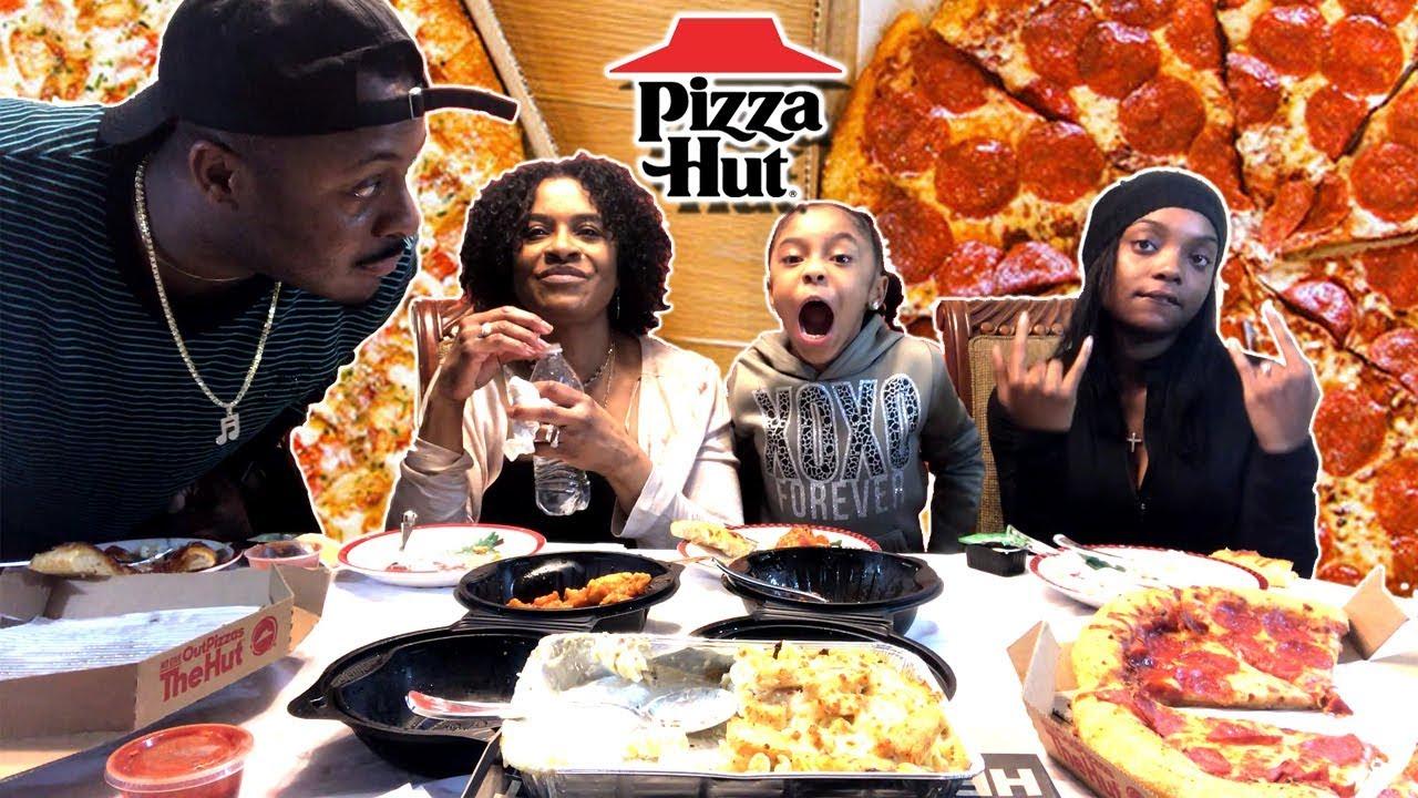 PIZZA HUT DEAL | $5 LINE UP | MUKBANG | EATING SHOW