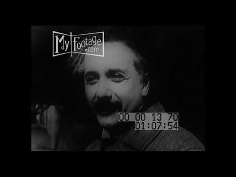 1931 Albert Einstein Visits the United States