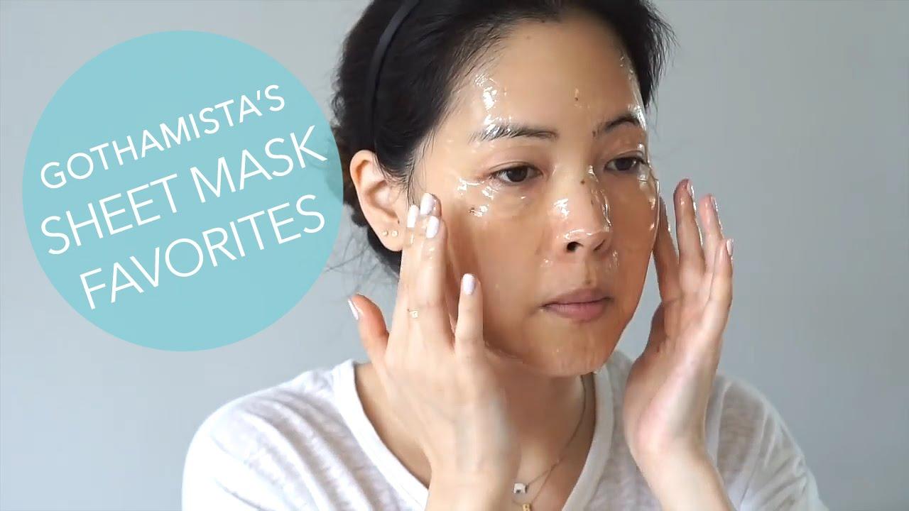 Gothamista S Korean Sheet Mask Favorites Featuring Glow Recipe Picks Youtube