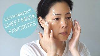 Gothamista's Korean Sheet Mask Favorites featuring Glow Recipe Picks